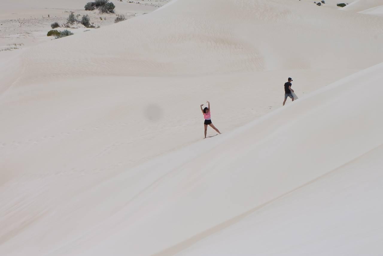 Lancelin Sand dunes - Australia