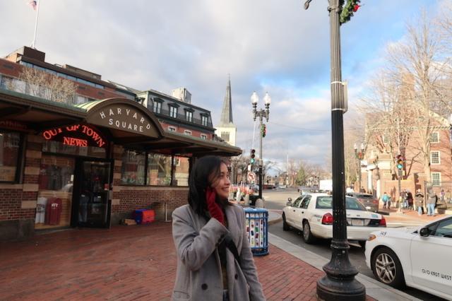 Visiting Harvard