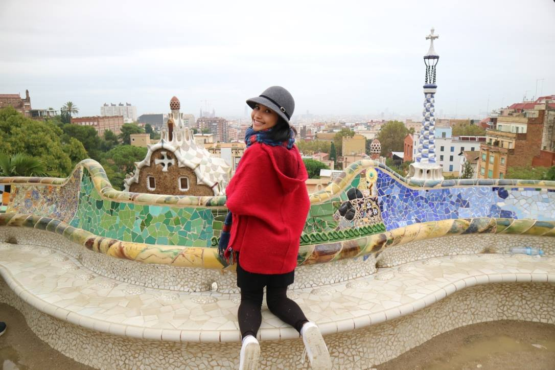 Visiting Gaudi Masterpiece - Barcelona